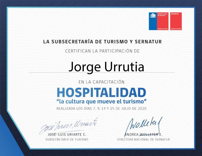 Diploma-Hospitalidad