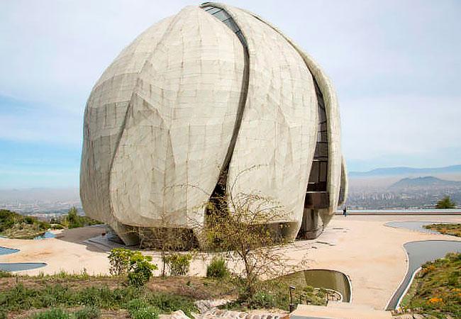 Templo-Bahai-en-Chile